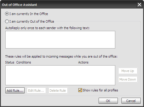 Create an out of office autoreply in outlook - Set up out of office in outlook ...