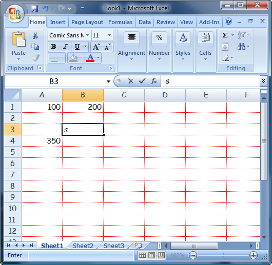 How To Change Cell Line Color In Excel