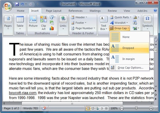 microsoft word how to add paragraph number