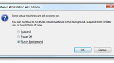 Make Virtual Machines Always Hide To The System Tray in VMware Workstation