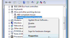 Roll Back Troublesome Device Drivers in Windows Vista