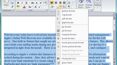 Spruce Up Your Word 2007 Documents with Paragraph Borders and Shading