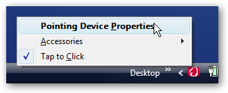 Remove Synaptics Touchpad Icon from System Tray