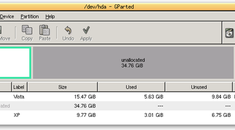 Using GParted to Resize Your Windows 7 or Vista Partition