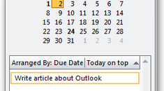 Quickly Create Appointments from Tasks with Outlook 2007's To-Do Bar