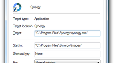 Fixing Problems with Synergy on Windows Vista