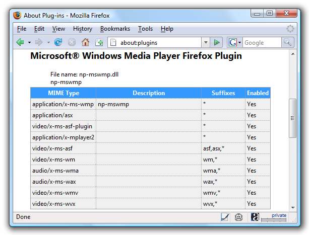 Windows media player dvd plugin