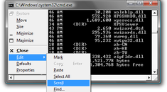 Keyboard Ninja: Scrolling the Windows Command Prompt With Only the Keyboard