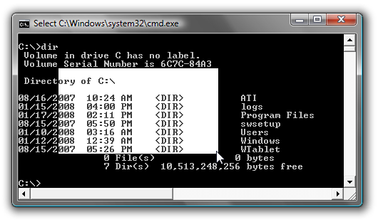 Copy To the Clipboard From the Windows Command Prompt
