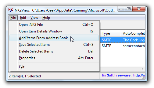 Manage Your Outlook Email Address Auto-Complete List - Tips