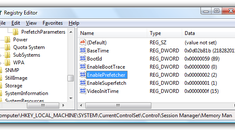 Change SuperFetch to Only Cache System Boot Files in Vista