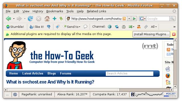 Installing Flash Player in Firefox on Ubuntu Gutsy