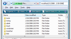 How to Search for Files from a Certain Date Range in Windows Vista and 7