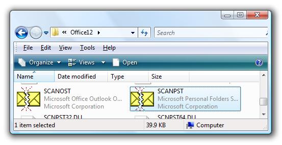 Fix Your Broken Outlook Personal Folders (PST) File