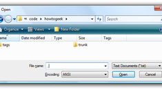 Stupid Geek Tricks: Navigate in the File Open/Save Dialog With the Keyboard