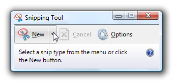 how to find snipping tool 10