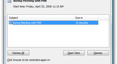 Stop Hitting Snooze: Change the Default Reminder Time for Outlook Appointments