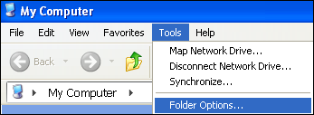 tool folder options