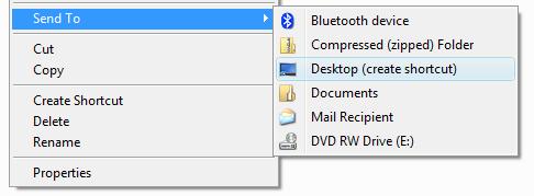 Send to Desktop