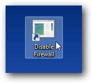how to turn off mcafee firewall on vista
