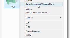 """Make """"Command Prompt Here"""" Always Display for Folders in Windows Vista"""