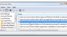 Disable User Account Control(UAC) For Administrators Only