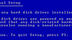 """Resolving """"Setup did not find any hard disk drives"""" during Windows XP Installation"""