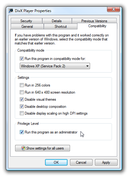 Using Windows 7 or Vista Compatibility Mode - How-To Geek
