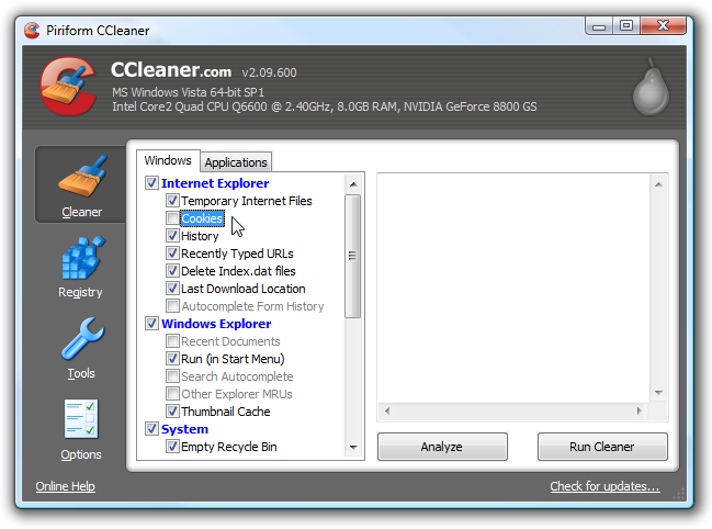 ccleaner free download for pc windows xp