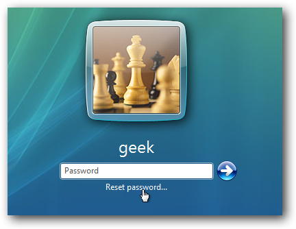 make password recovery disk windows 7
