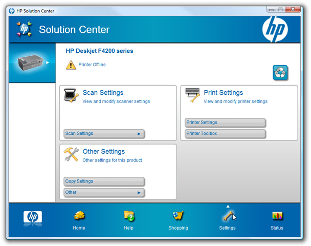 Centro De Soluciones Hp Para Windows 7