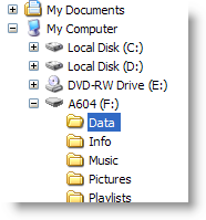 portable apps choose directory