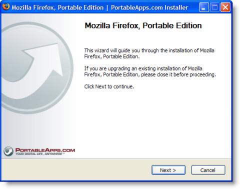 portableapps install firefox