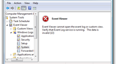 """Fixing """"Event Viewer cannot open the event log"""" When Viewing System Logs"""