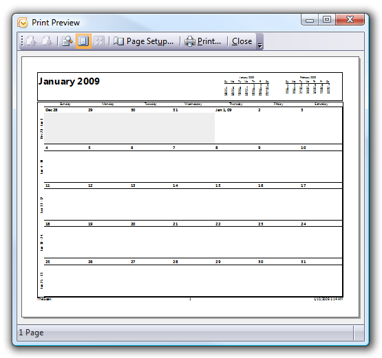 photo about Printable Outlook Calendar named How Toward Print Out Blank Calendars in just Outlook 2007