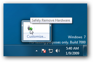 Windows 7 Safely Remove
