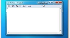 """Remove the Ugly """"Send Feedback"""" Link in Windows 7 Beta"""