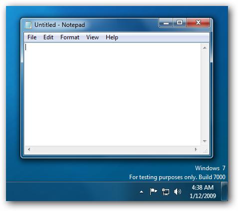 Windows 7 Send Feedback Removed