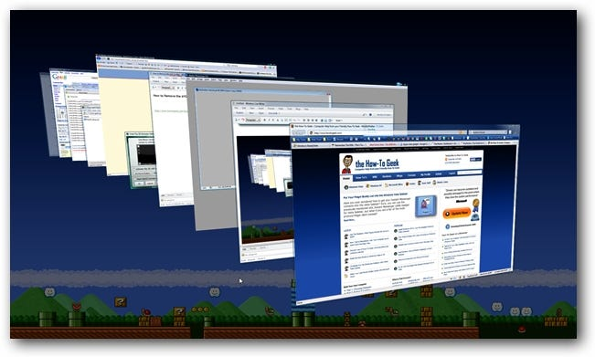 Windows Vista Flip 3D