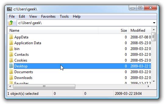 Stupid Geek Tricks: Using 7-Zip as a Blazing Fast File Browser