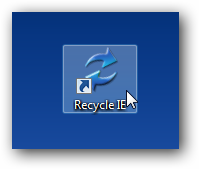 Recycle IE Icon