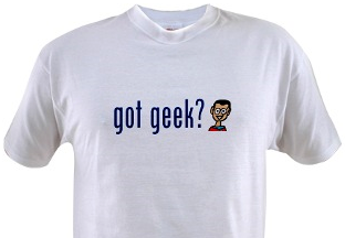 got geek? shirt