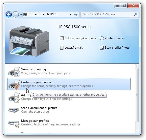 1 Printer