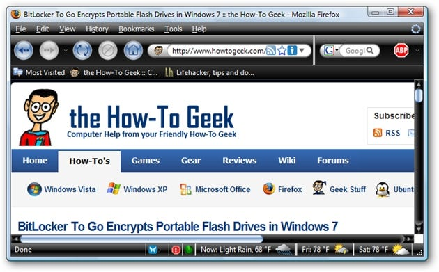 Firefox Themes: Best of the Darkness - Tips general news