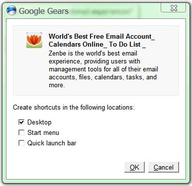 application-shortcuts