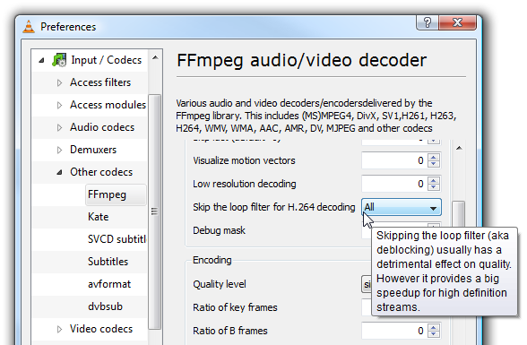 FFmpeg audio/video decoder