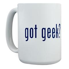 got geek? mug