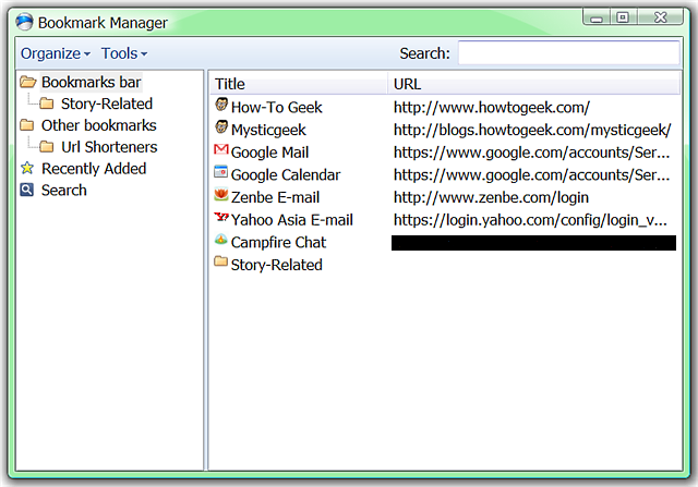 iron-browser-bookmarks-manager