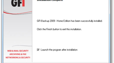 GFI Backup Home Edition is a Free Data Backup Utility for Windows
