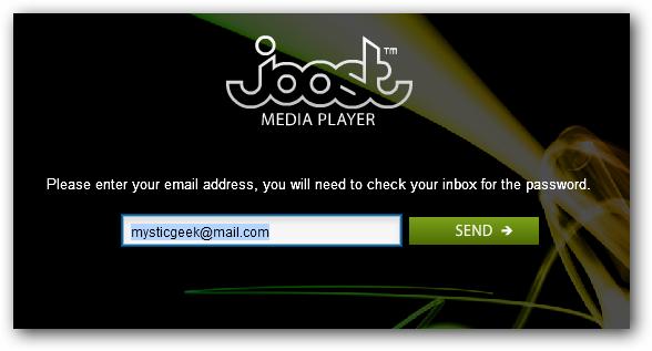 2 enter email